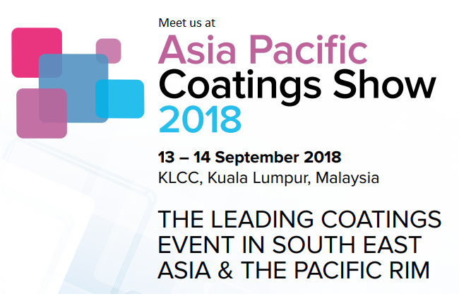 Asia Pacific Coatings Show 2018 – Malaysia