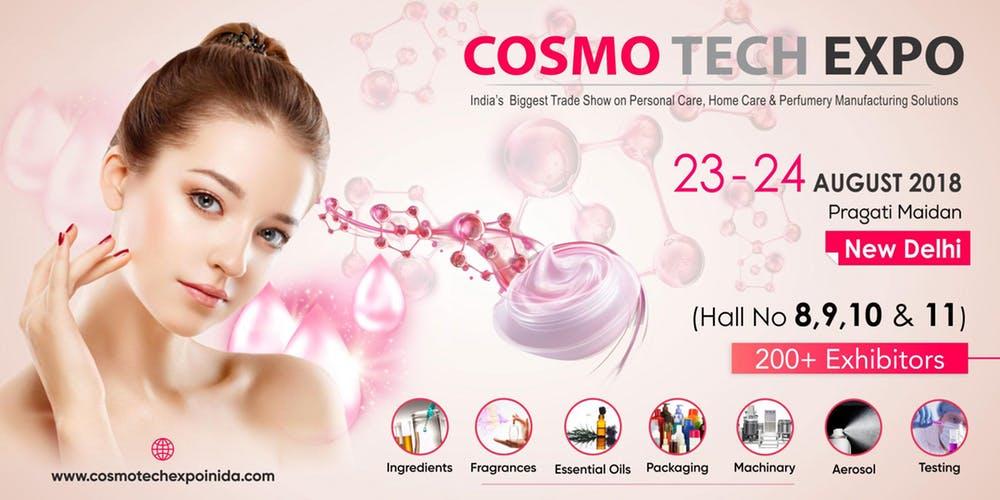 Cosmo Tech Expo 2018 – Delhi